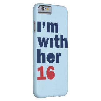 私は彼女と-ヒラリー・クリントン2016の電話箱です BARELY THERE iPhone 6 ケース