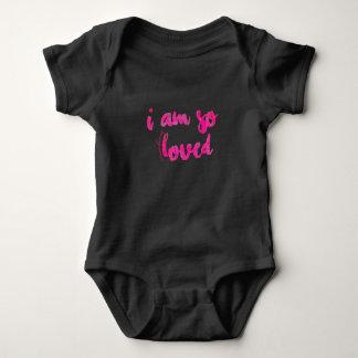 私は従って愛された72marketing女の赤ちゃんの上のnoelのestesあります ベビーボディスーツ