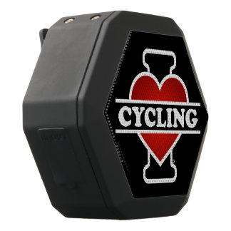 私は循環することを愛します ブラックBluetoothスピーカー