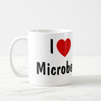 私は微生物を愛します コーヒーマグカップ