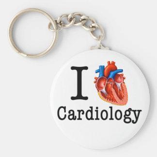 私は心臓学を愛します キーホルダー