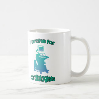 私は心臓学医の水のためにブレーキがかかります コーヒーマグカップ