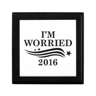 私は心配した2016年です ギフトボックス