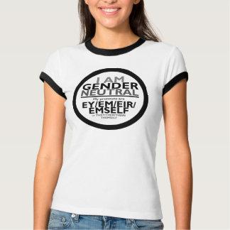 私は性Neutalです(Eyの代名詞または代名詞) Tシャツ