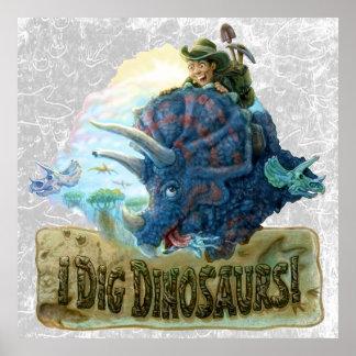 私は恐竜を掘ります ポスター