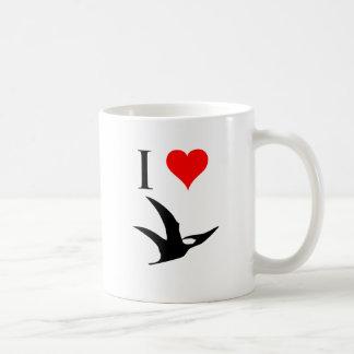 私は恐竜- Pterodactyl --を愛します コーヒーマグカップ