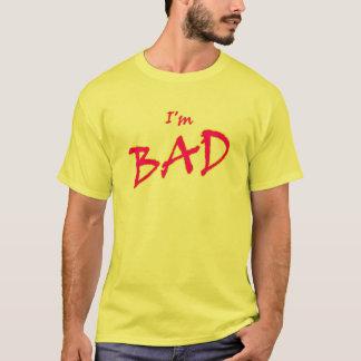 私は悪いティーです Tシャツ
