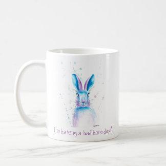 私は悪いノウサギ日のマグを経験しています コーヒーマグカップ