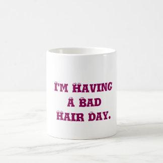 私は悪い日を過しています マジックマグカップ
