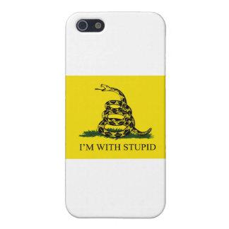 私は愚かとあります iPhone SE/5/5sケース