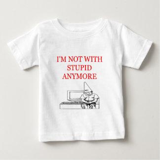 私は愚かな離婚の冗談を用いるmnotです ベビーTシャツ