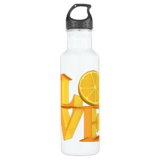 私は愛しますオレンジ(TANGERINE/MANDARIN)を ウォーターボトル