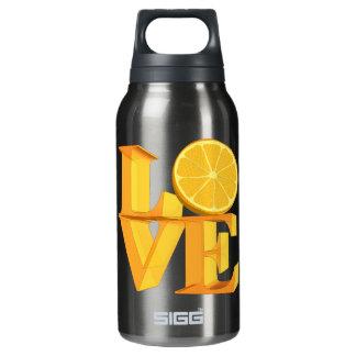 私は愛しますオレンジ(TANGERINE/MANDARIN)を 断熱ウォーターボトル