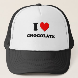 私は愛しますチョコレート(食糧)を キャップ