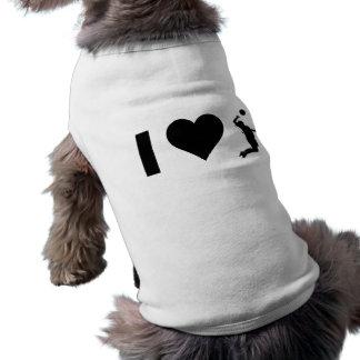 私は愛しますバレーボール(男性)を ペット服