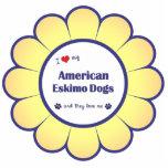 私は愛します私のアメリカのエスキモー犬(多数犬)を