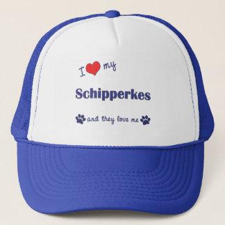 私は愛します私のスキッパーキ(多数犬)を キャップ