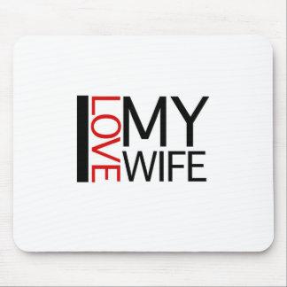 私は愛します私の妻(赤灯特派員)を マウスパッド