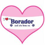 私は愛します私のBorador (メス犬)を フォトの切り取り