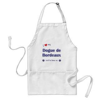 私は愛します私のDogue de Bordeaux (オス犬)を スタンダードエプロン