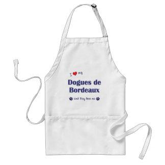 私は愛します私のDogues de Bordeaux (多数犬)を スタンダードエプロン