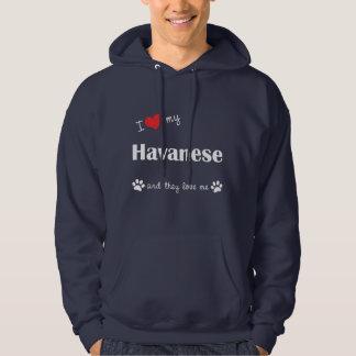 私は愛します私のHavanese (多数犬)を パーカ