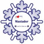 私は愛します私のMastador (オス犬)を
