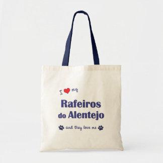 私は愛します私のRafeirosをしますアレンテジョ(多数犬)を トートバッグ