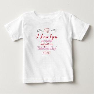 私は愛します ベビーTシャツ