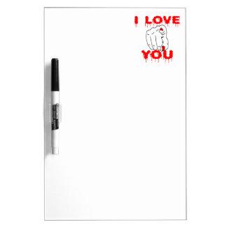私は愛します ホワイトボード