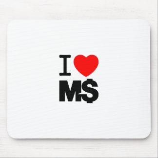 私は愛しますM$ (ライト)を マウスパッド