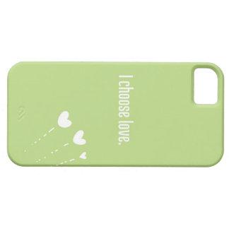 私は愛を選びます: iPhone 5の場合 iPhone SE/5/5s ケース