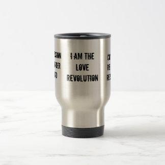 私は愛革命、compassionsurrenderst…です トラベルマグ