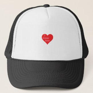私は愛-バレンタインのギフト--を知っています キャップ