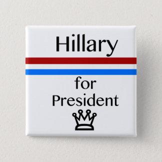 私は憲法ボタンを投票します 5.1CM 正方形バッジ