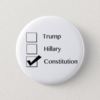 私は憲法ボタンを投票します 5.7CM 丸型バッジ