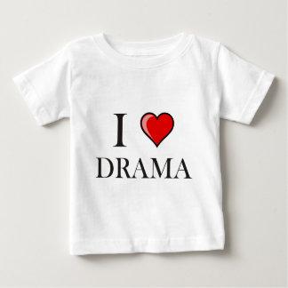 私は戯曲を愛します ベビーTシャツ