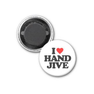 私は手のジャイヴを愛します マグネット
