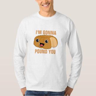 私は打ち砕こうと思っています Tシャツ