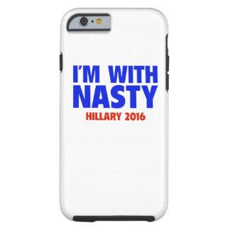 私は扱いにくいと-ヒラリーの2016年のiPhone6ケースあります ケース