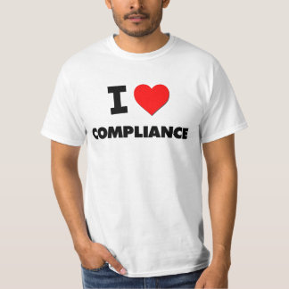 私は承諾を愛します Tシャツ