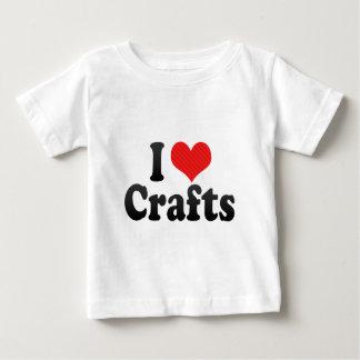私は技術を愛します ベビーTシャツ