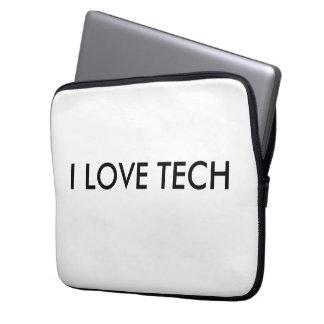 """私は技術13""""を場合愛します ラップトップスリーブ"""