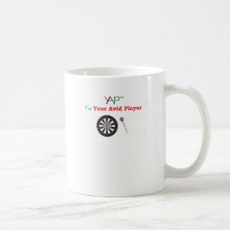 私は投げ矢のあなたの熱心なプレーヤーです コーヒーマグカップ