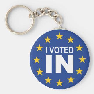 私は投票しました キーホルダー
