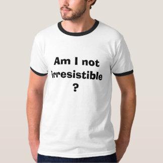 私は抵抗できなくないですか。 Tシャツ