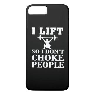 私は持ち上がります従って私は人々を窒息させません iPhone 8 PLUS/7 PLUSケース