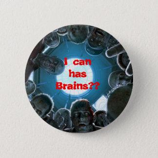 私は持っています頭脳をできますか。 ボタン 缶バッジ
