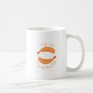 私は採取します コーヒーマグカップ