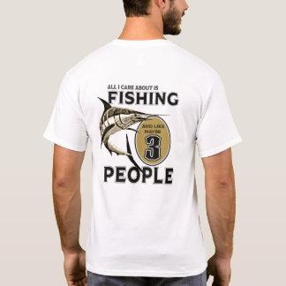 私は採取することを好み、3人を多分好みます Tシャツ
